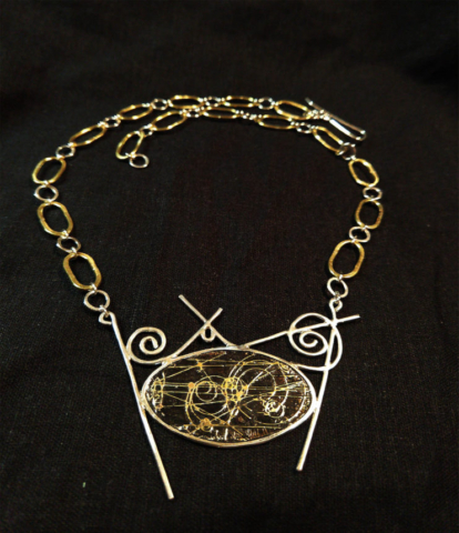 Bubble Chamber Necklace